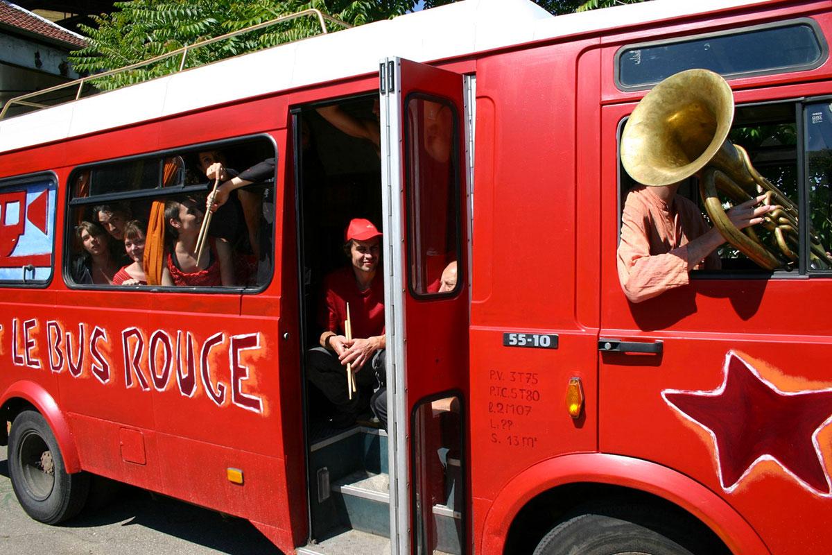 Le Bus Rouge©Flore Thebault